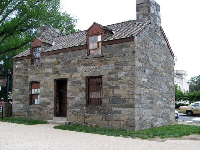 Lock Keeper's House. There used to be a canal running through the area, this is where the lock operator lived.